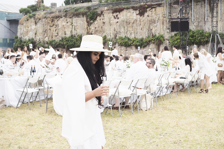 Diner en Blanc 2016 at the iconic Cockatoo Island, Sydney.