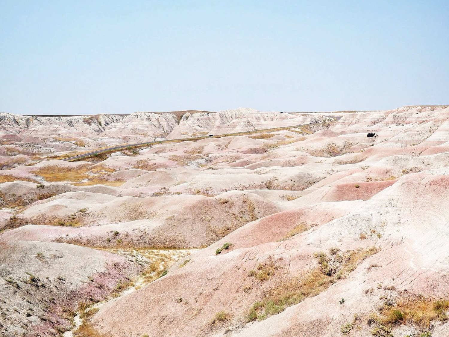 BOONDOCKING IN THE BADLANDS -