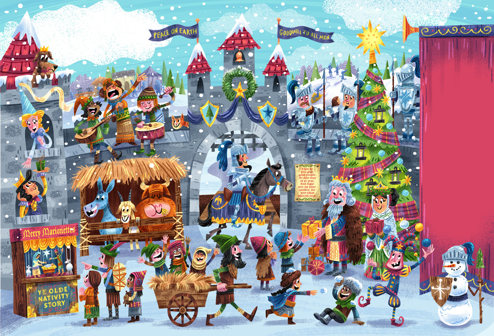 Clubhouse magazine - Christmas village (Dec. issue)