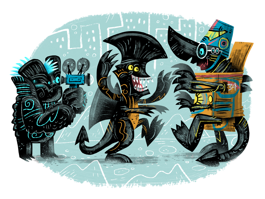 """The Early Years"" - Pacific Rim tribute Supahcute Kaiju Show 2 (Leanna Lin's Wonderland)"
