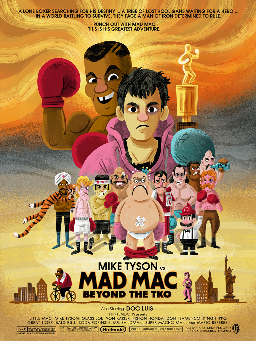 """Mad Mac"" Punchout! Tribute show (Gallery 1988)"