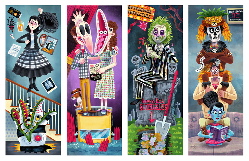 """If I knew then, what I know now …"" Beetlejuice / 30 Years Later show (Gallery 1988)"