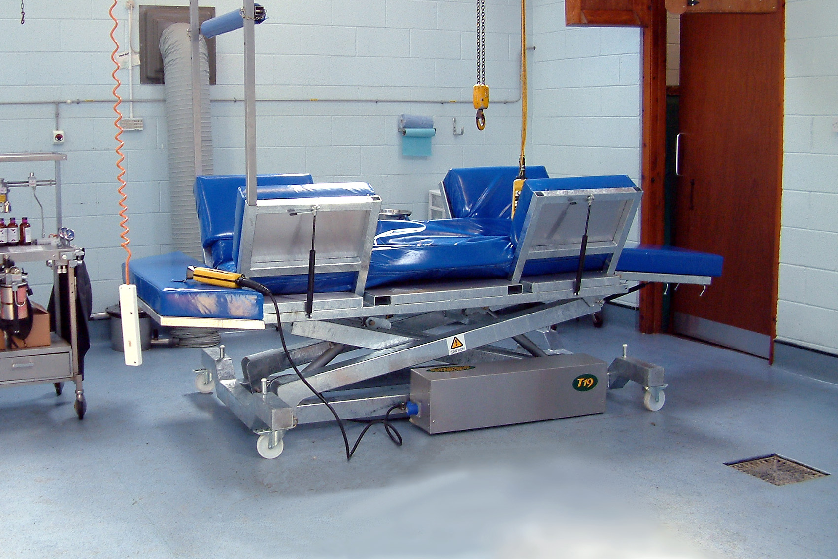 Veterinary operating table_Equine surgery_01