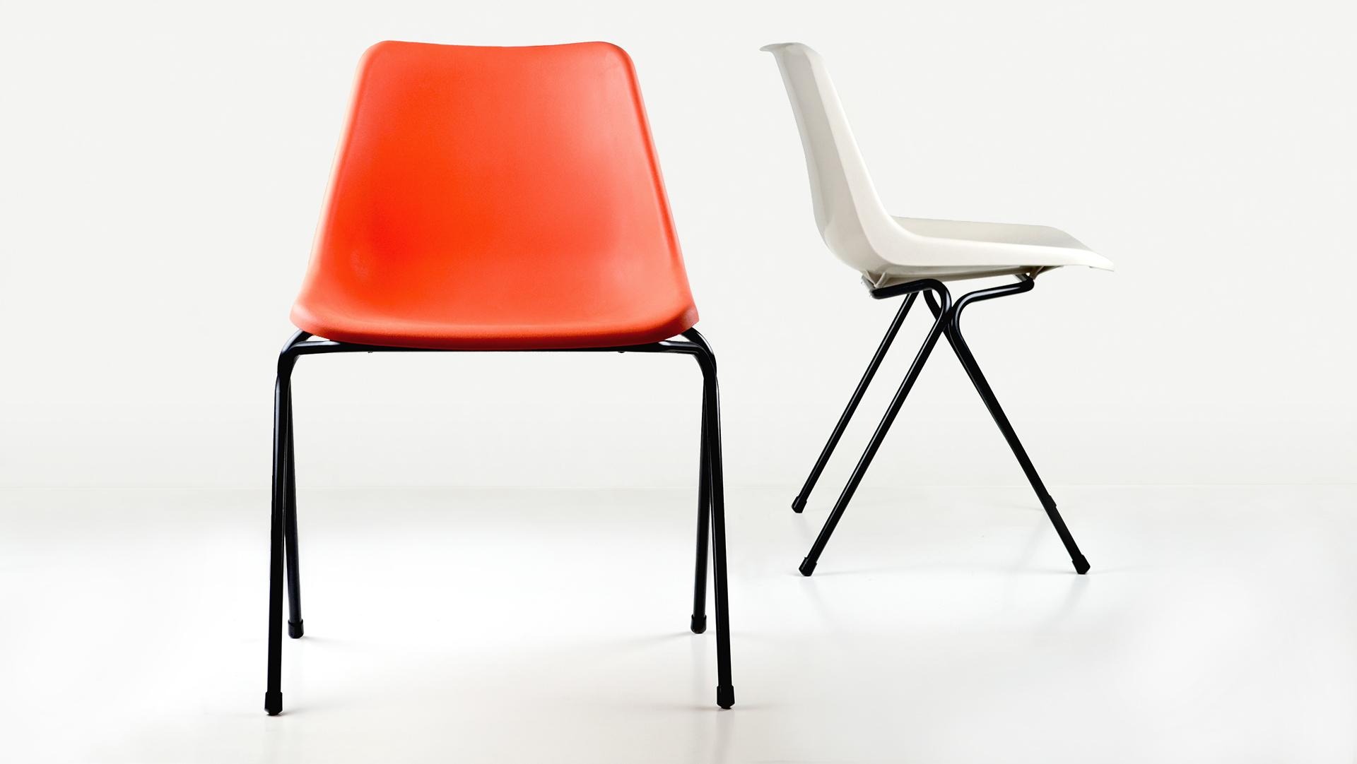 Robin Day polypropylene Polyside chair
