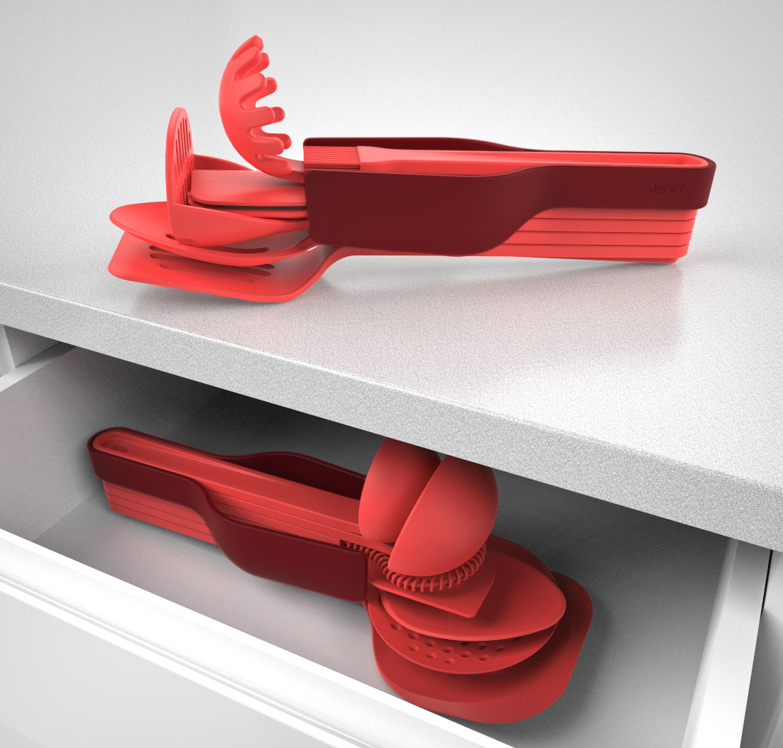 Venn Kitchenware Stack & Store in a drawer