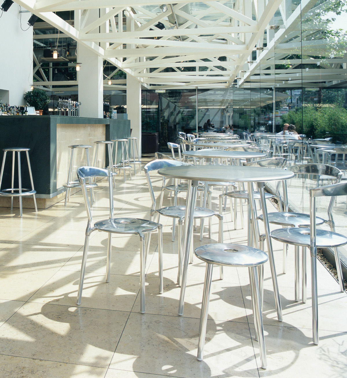 Luna Restaurnat Chair, Stools and Tables