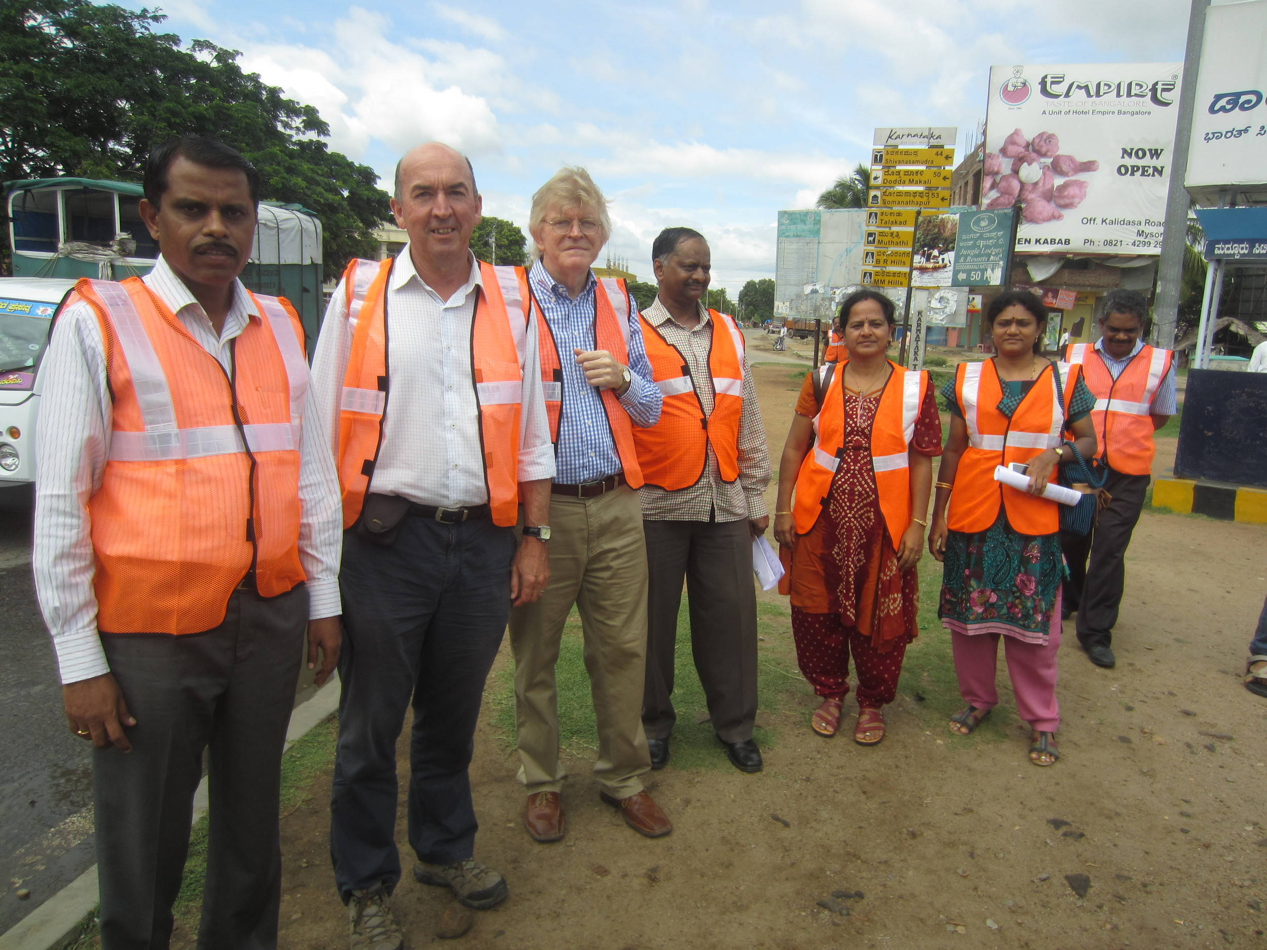 India- On site