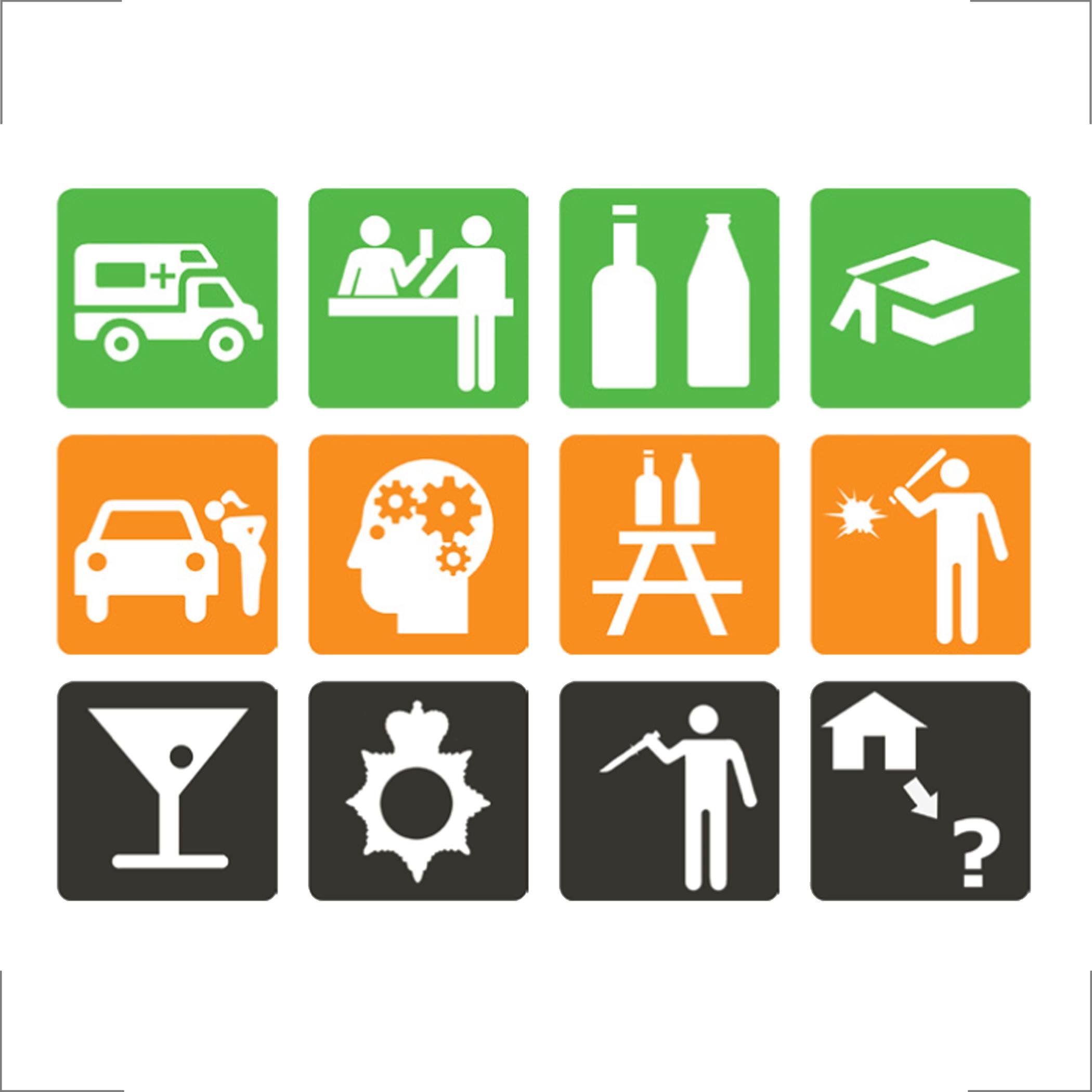 Behaviour coding icons