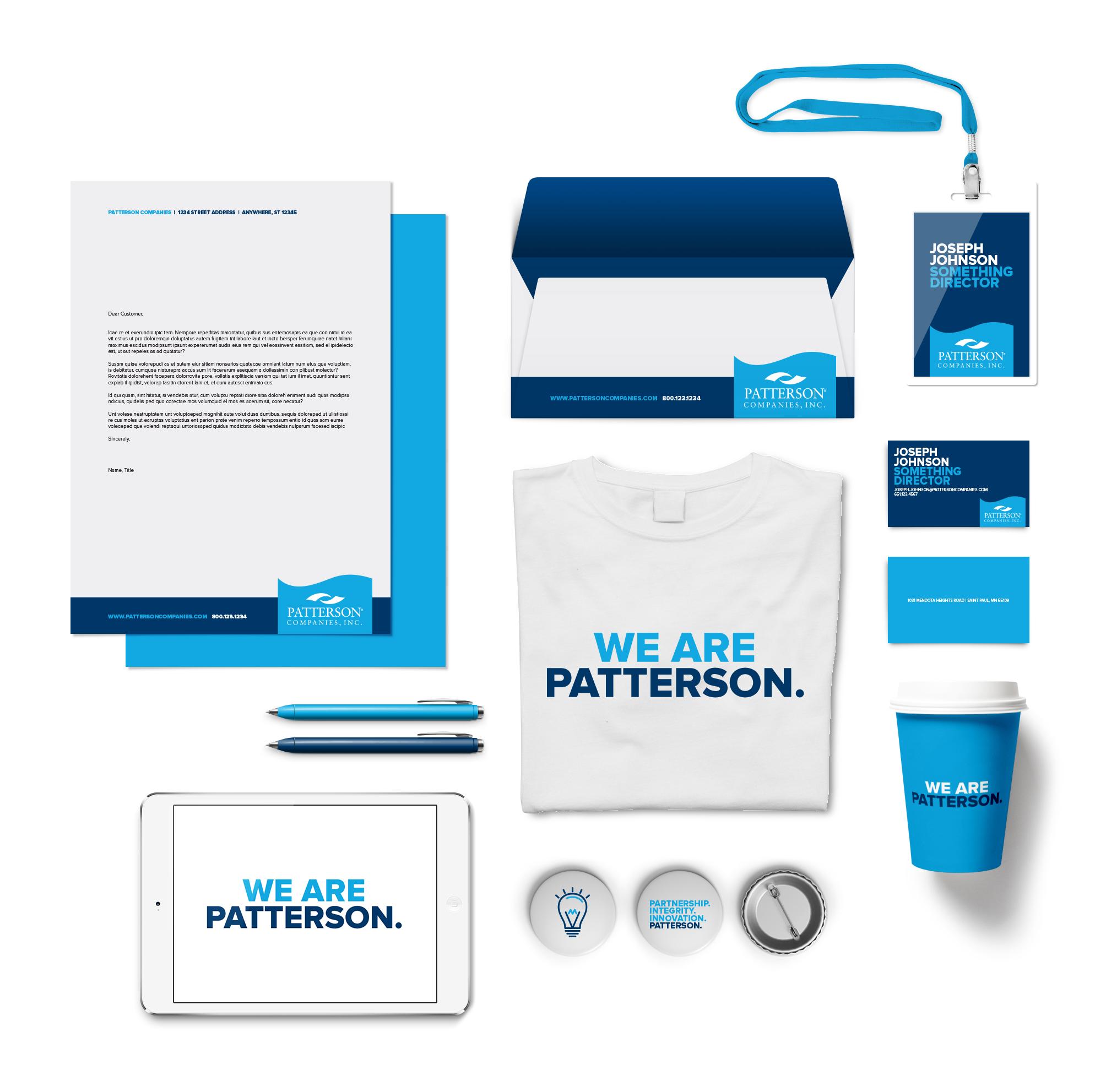 Patterson Corporate Identity Design