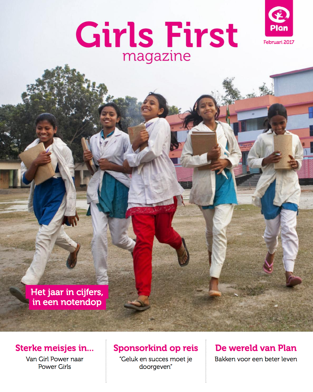 Girls First Magazine - Plan Nederland