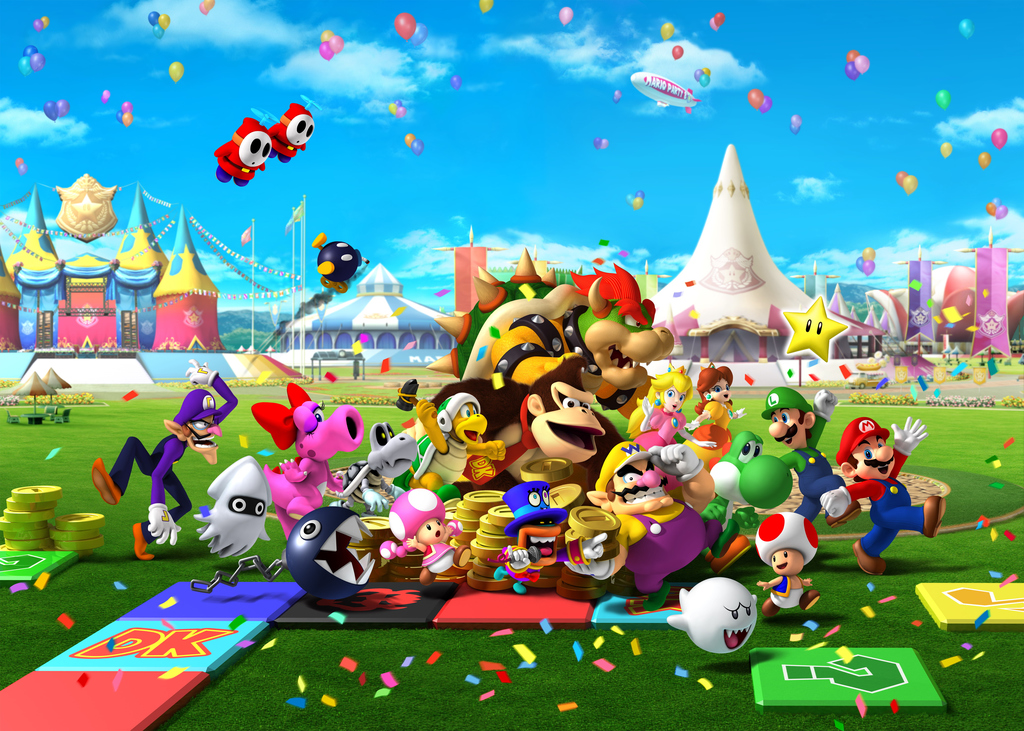 Playing Mario Party with friends can easily turn bad. Photo: Hudson Soft