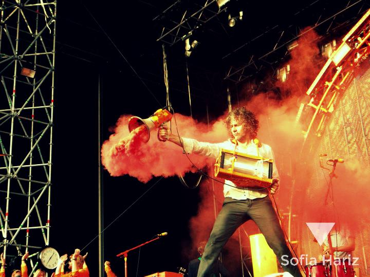 Wayne Coyne (The Flaming Lips) - Øya Festival, Norway