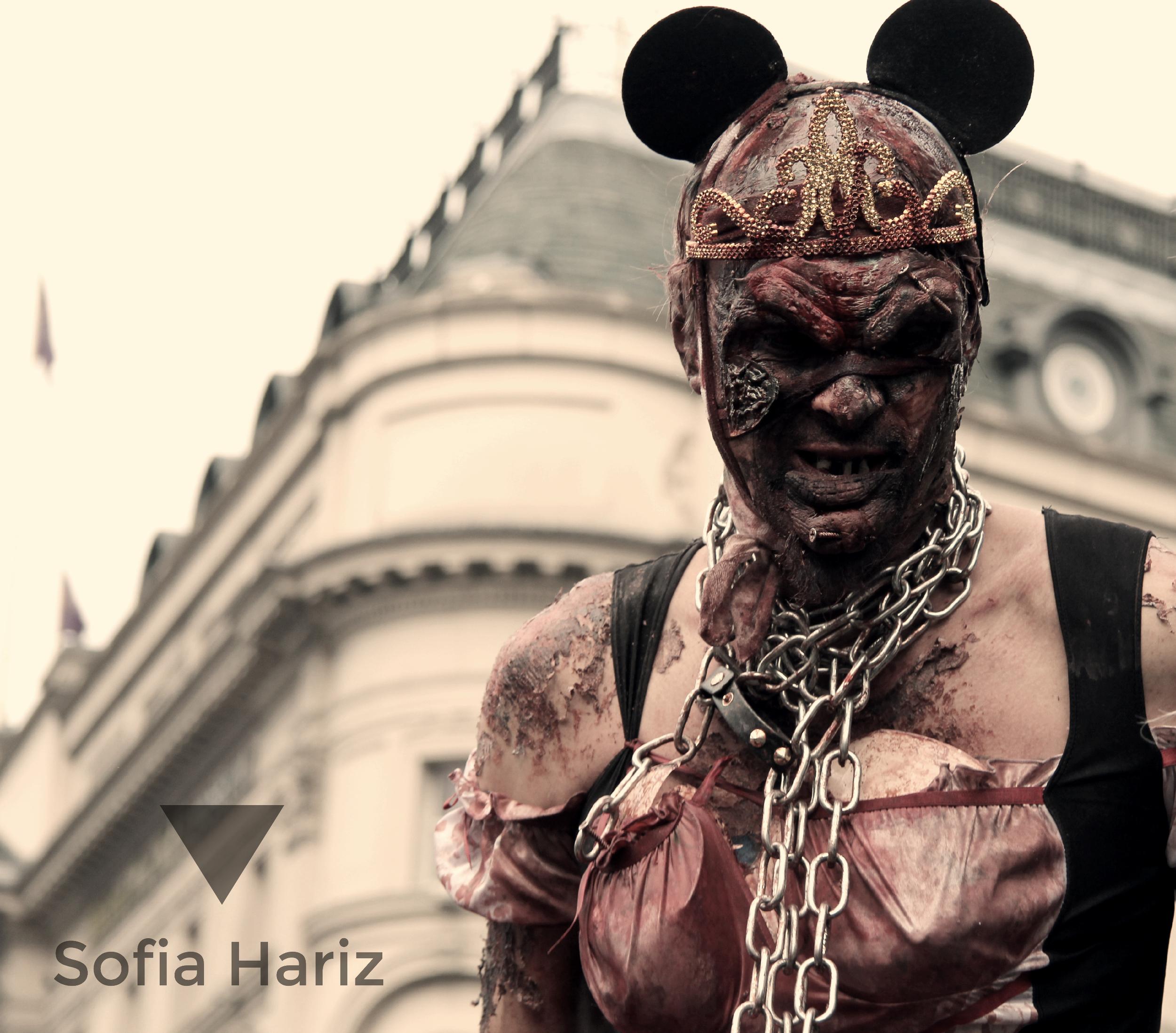 Mickey - Zombie walk 2013, London, UK