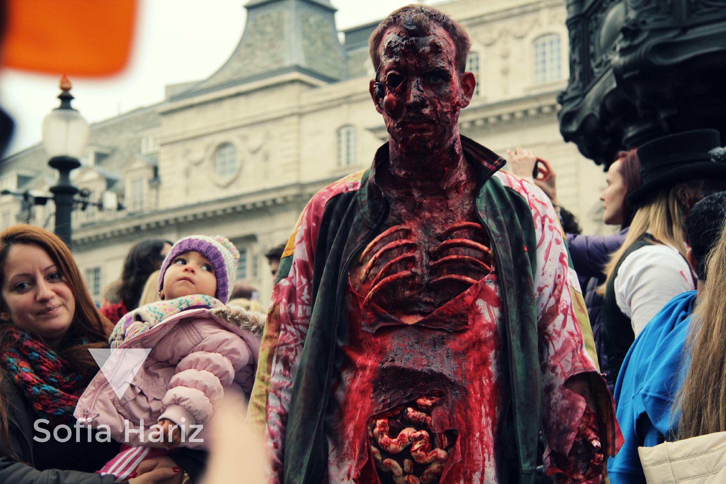 Guts - Zombie Walk 2013, London,UK