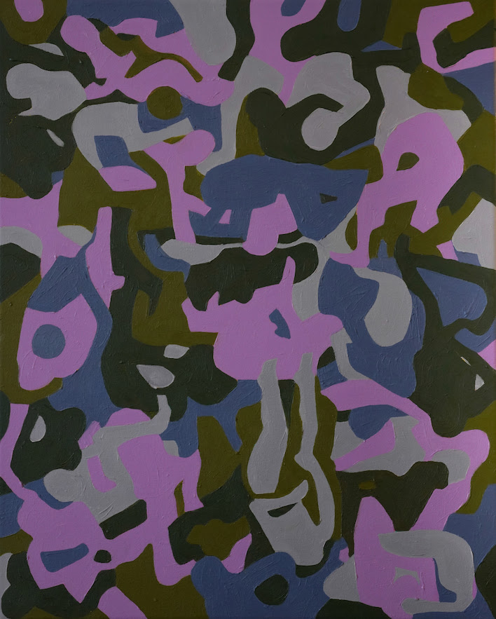 "Jessica Lynn Wiebe,  Untitled Camo 1 , 16 x 20"""