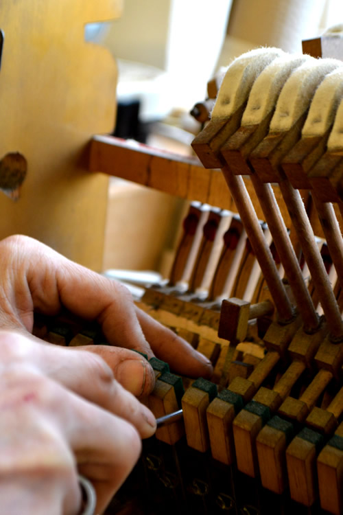 Stoke Pianos Regulation