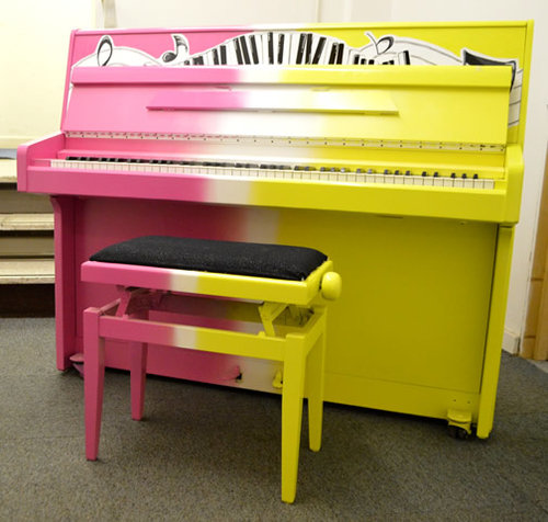 Painted Party Piano