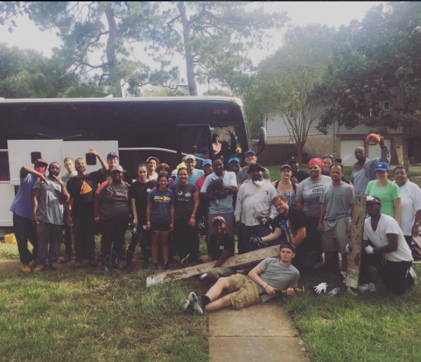 The Houston 40 Team from an Oct 2017 Hurricane Harvey Disaster Relief Trip