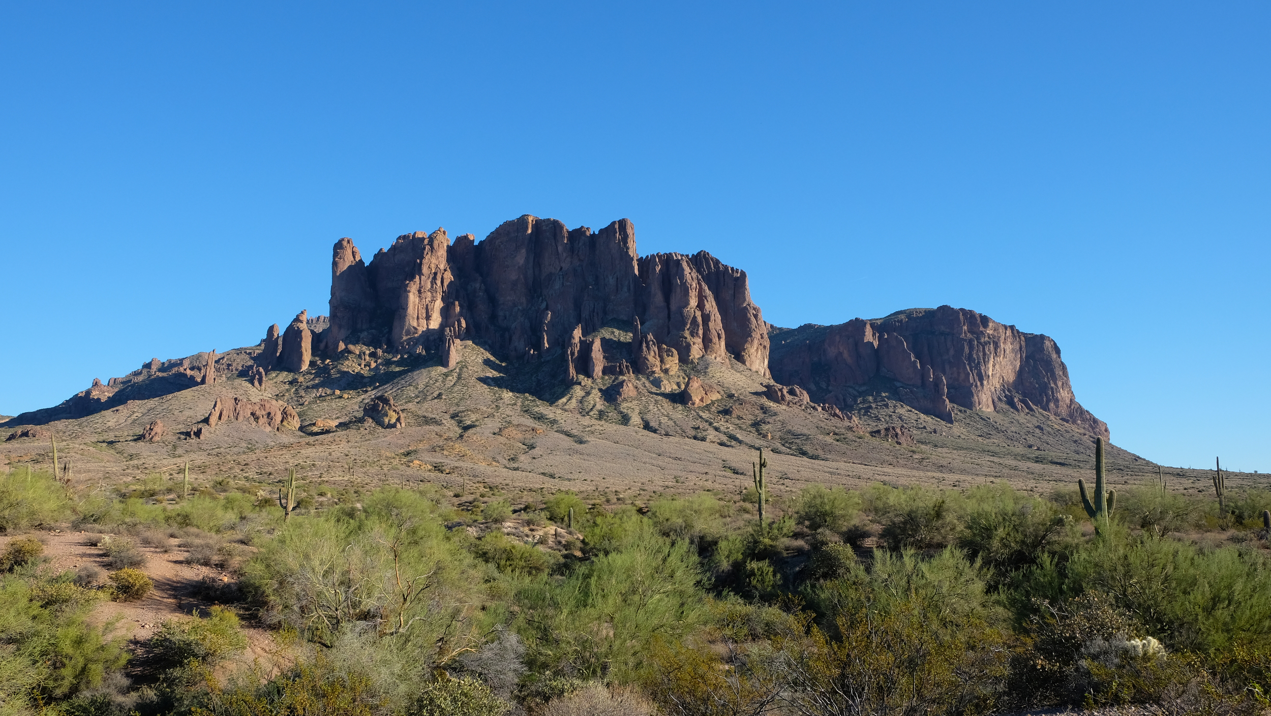 Took this image while doing some research in the Superstition Mountains.
