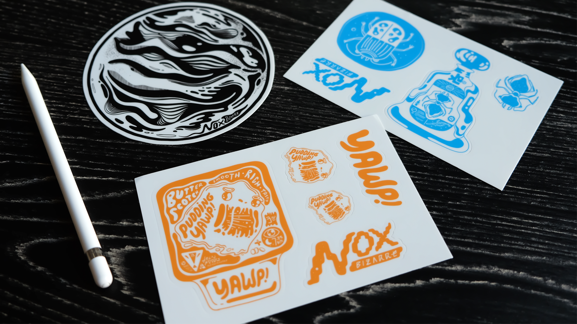 Nox-related sticky things.
