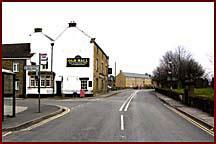 Turn left coming from Castleton