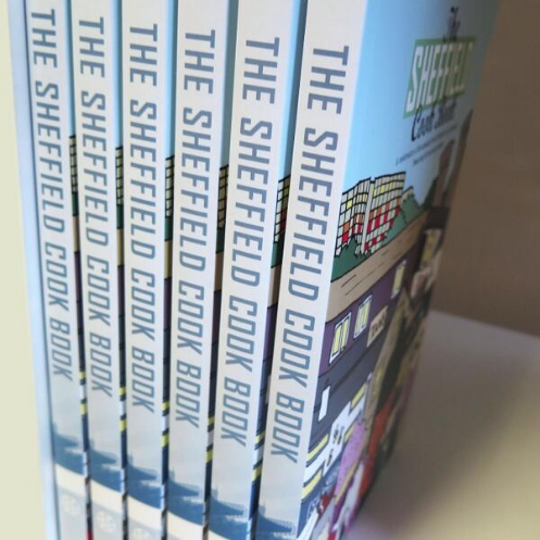 The books have been recently printed and will be available in early May.