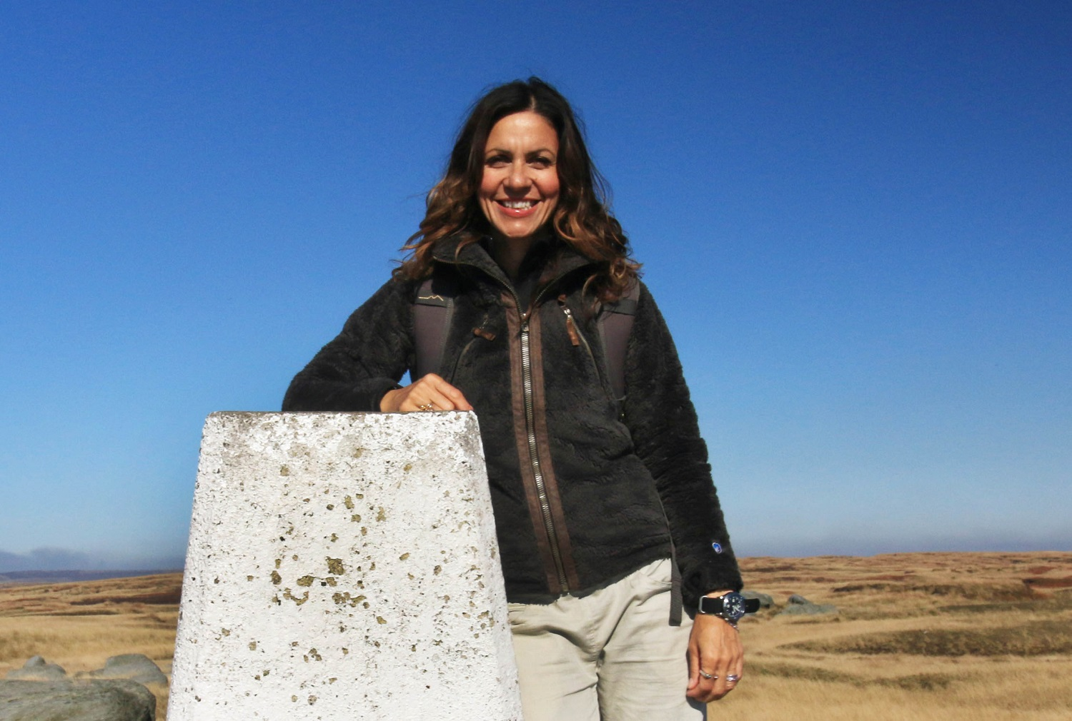 Julia Bradbury follows in the footsteps of the 1932 mass trespassers on Kinder Scout