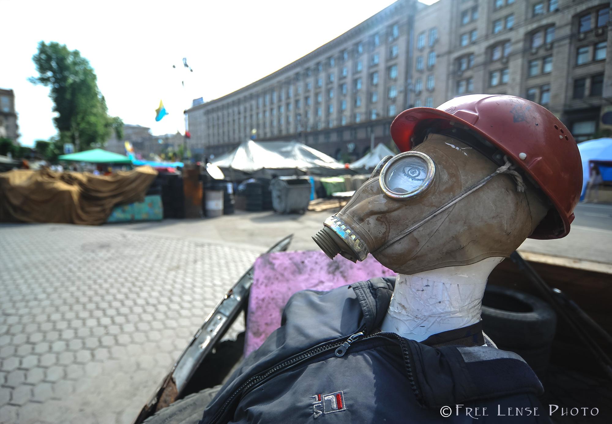 'Maidan' , Downtown Kyiv, May 17, 2014