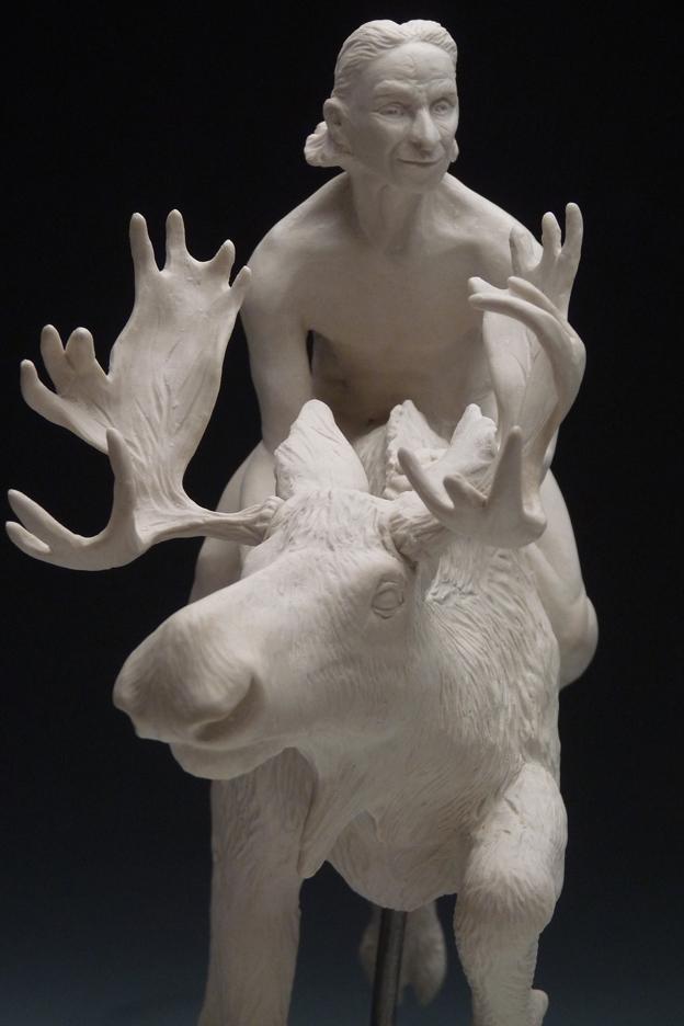 14 Man on Bull Moose detail.jpg