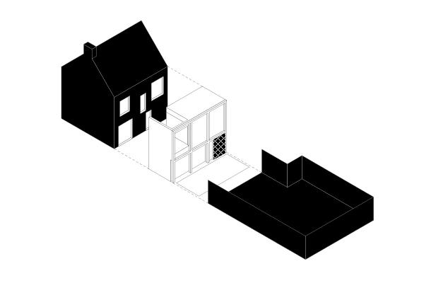 VAN GELDER TILLEMAN architecten - woning B-V