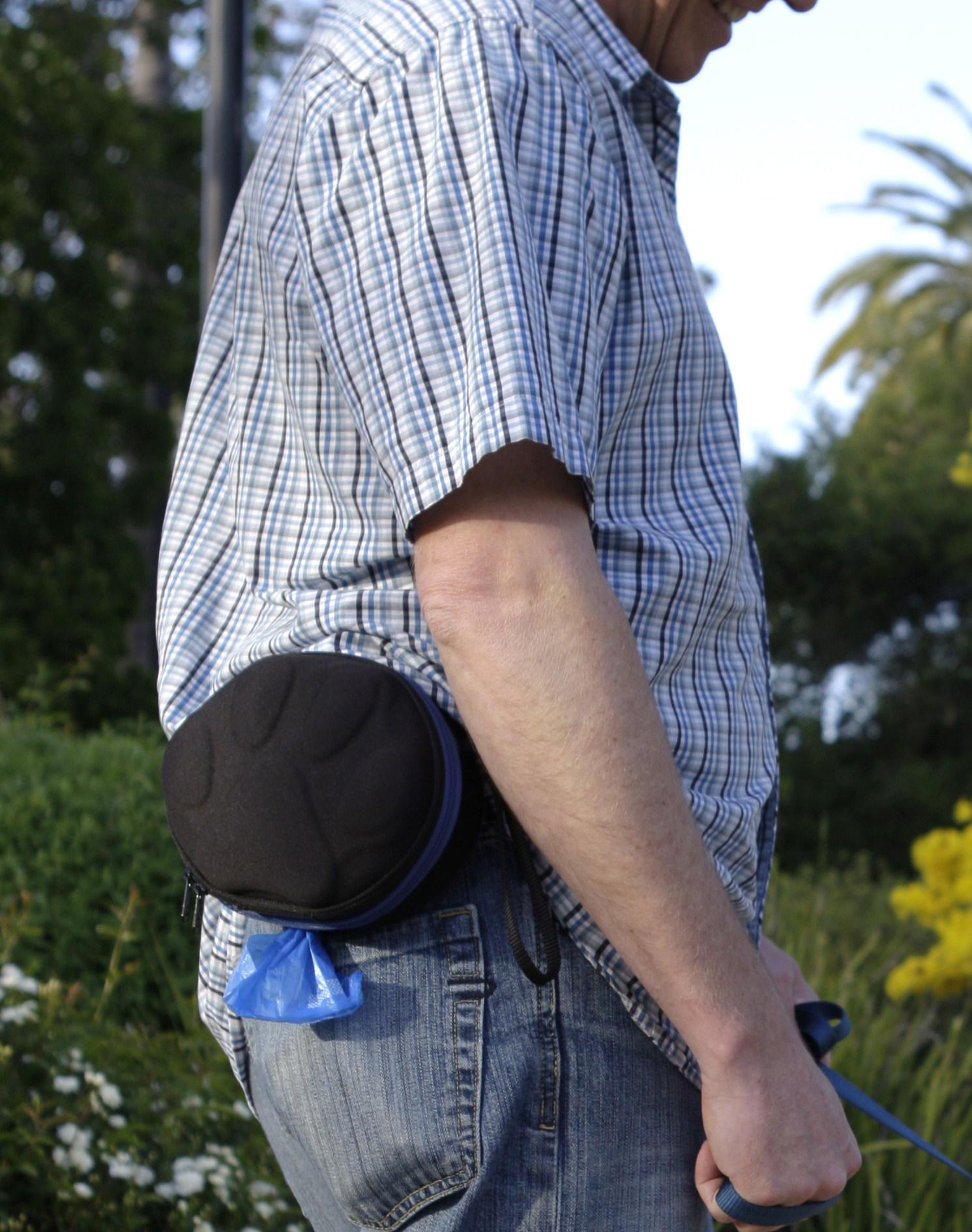 PoopPac Dog Walkers Bag for Men