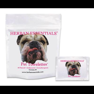 Herban Essentials Pet Towelettes