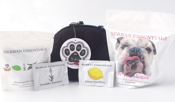 PoopPac Herban Essentials Dog Wipes