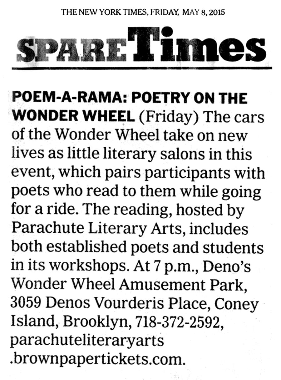 NYTimes Poem-a-Rama