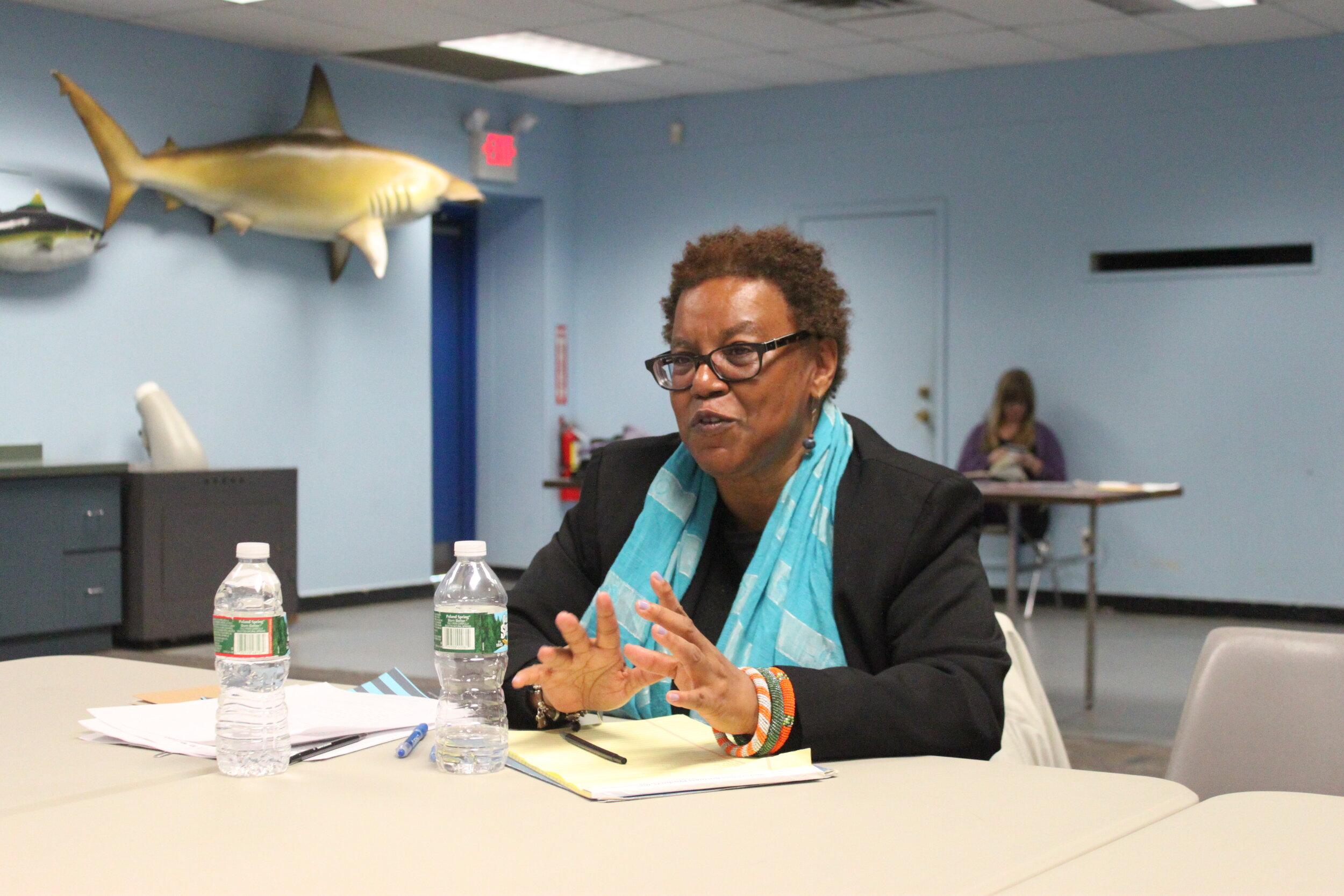 Patricia Spears Jones leads writing workshop.jpg
