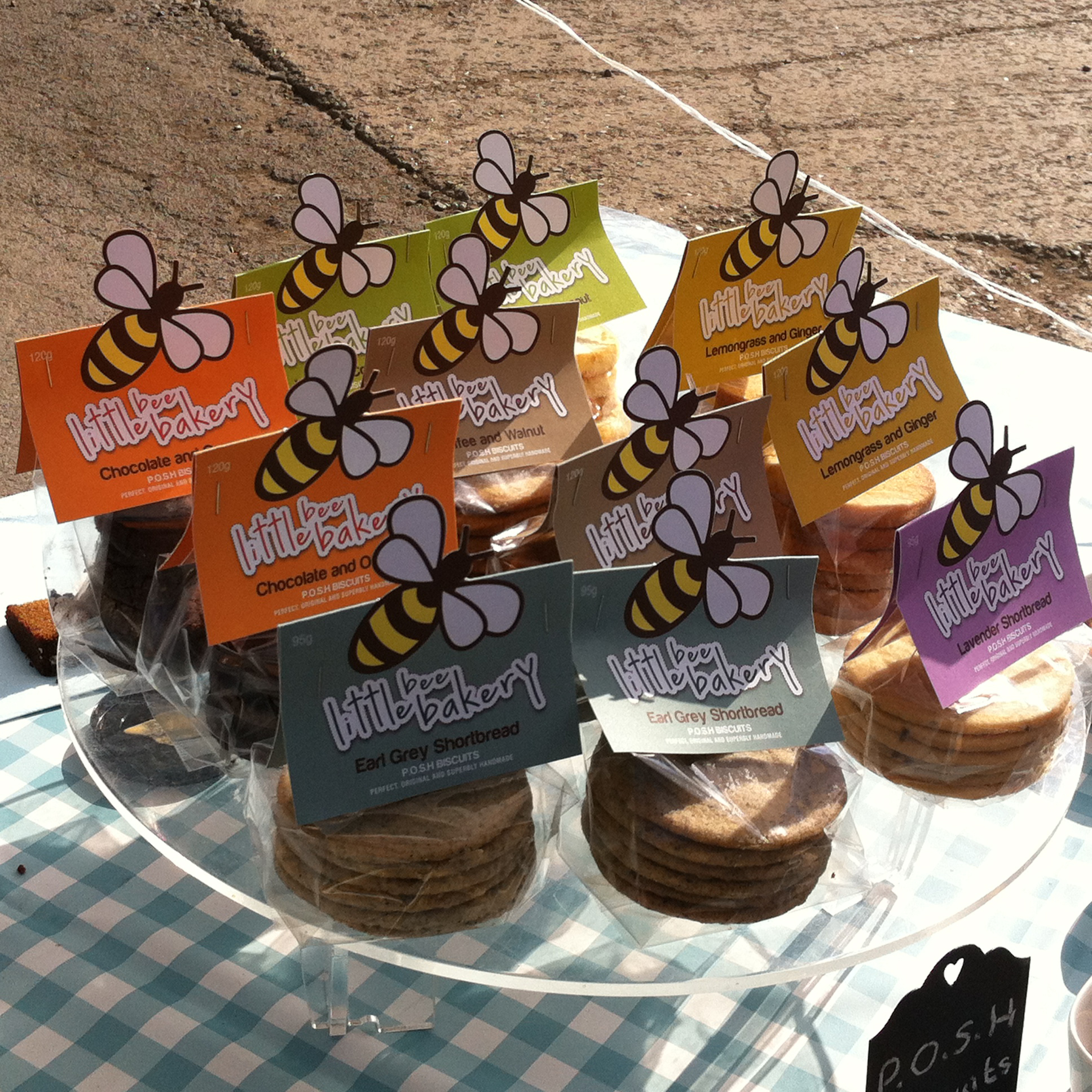 Yummy biscuits from Little Bee Bakery