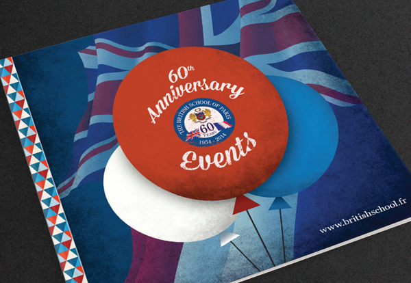 Events brochure for British School of Paris