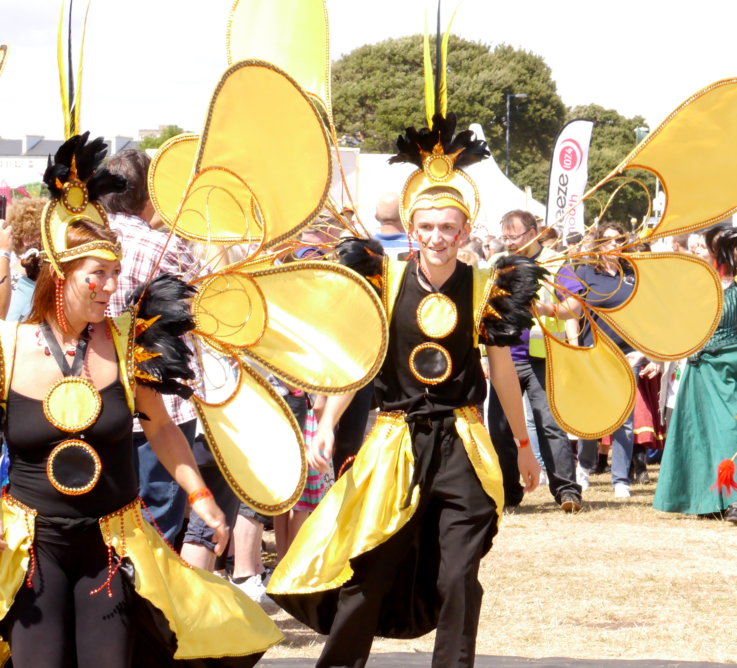 The Carnival begins at Southsea Show