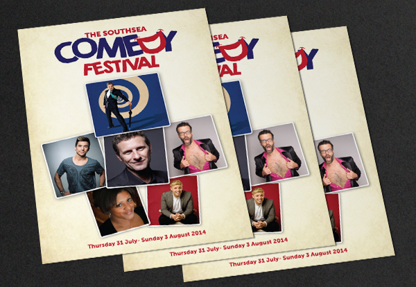 Southsea Comedy festival programme