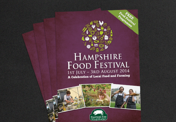 Hampshire Food festival programme