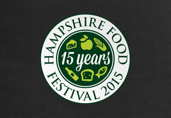 Hampshire food festival logo