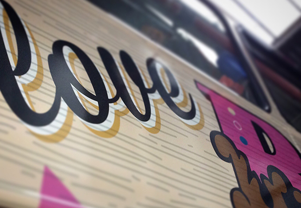 bus wrap illustration