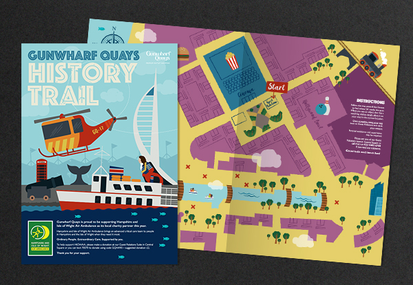 Brochure and illustration
