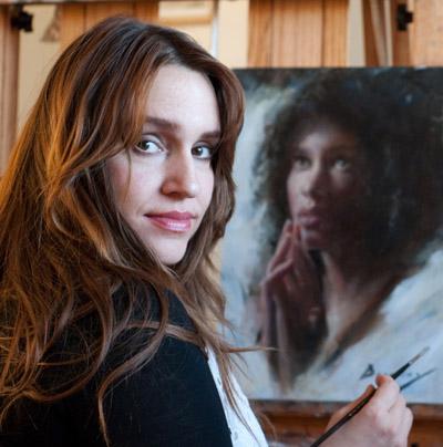 """MICHELLE DUNAWAY    """"Painting the Figure & Portrait en Plein Air"""""""