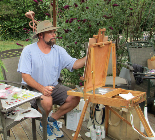 "DOUGLAS REICHWEIN   ""The Alla Prima Approach to Painting Plein Air"""