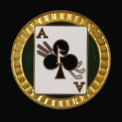 Ace of Clubs - Front