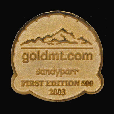 Gold Mountain 2003 - Back