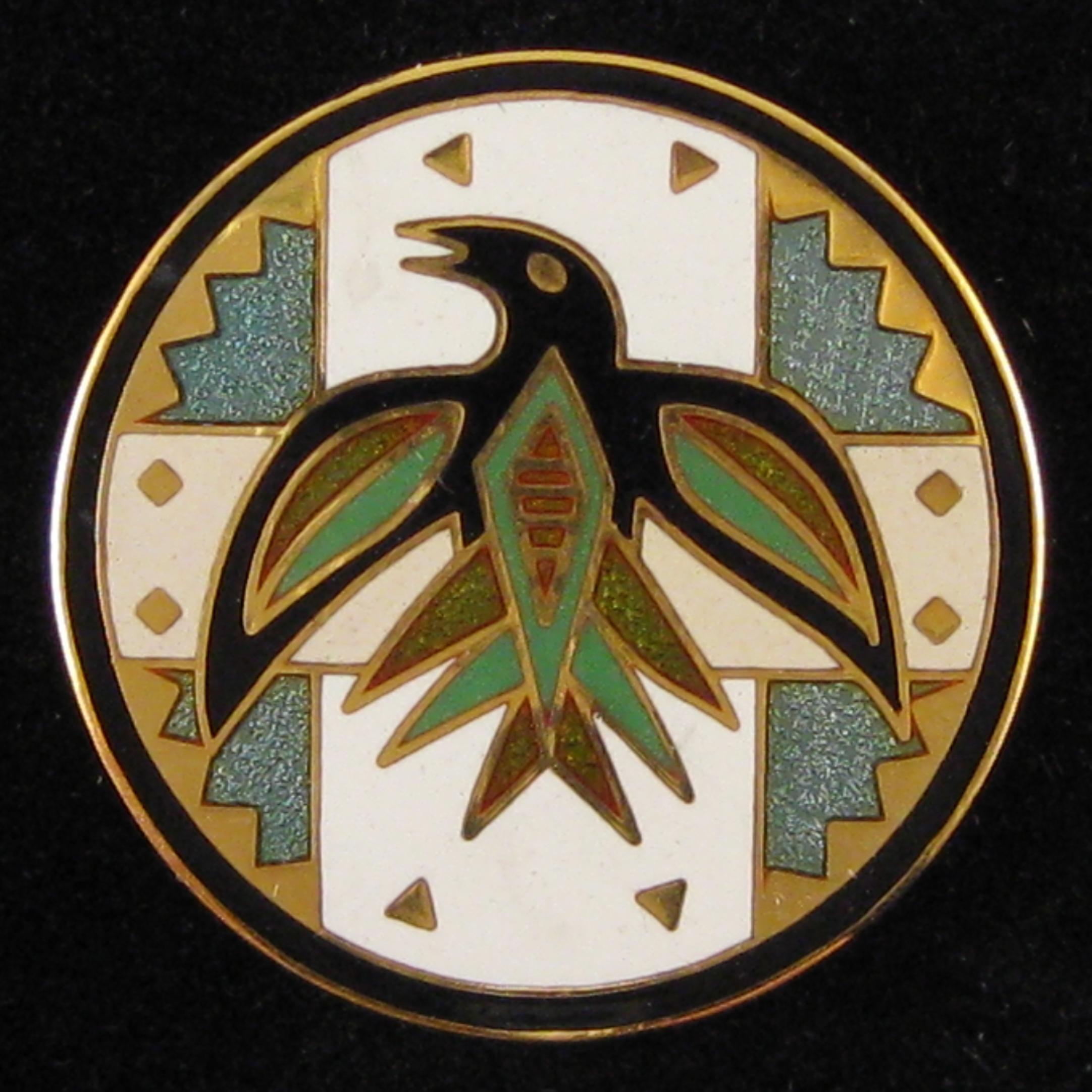 Circling Raven - Front Green