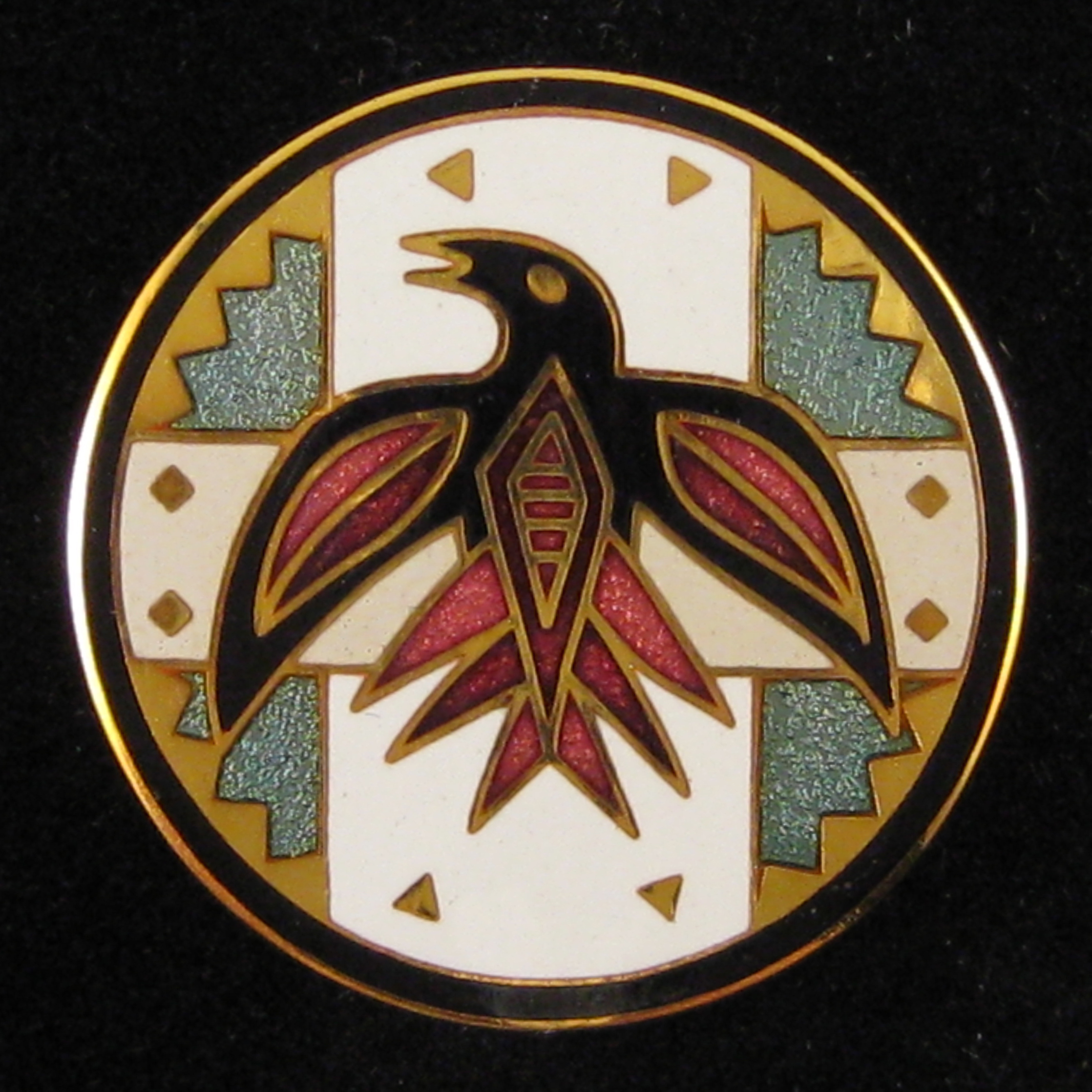 Circling Raven - Front Red
