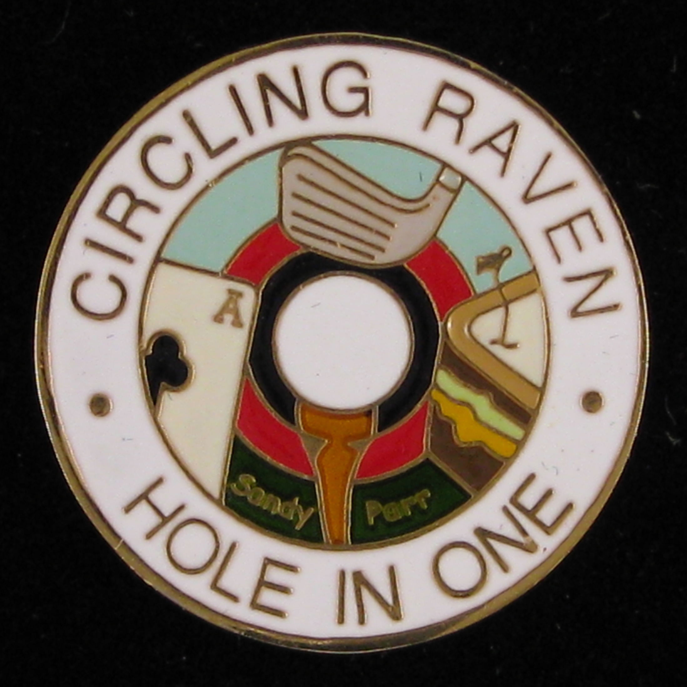 Circling Raven Hole In One - Back
